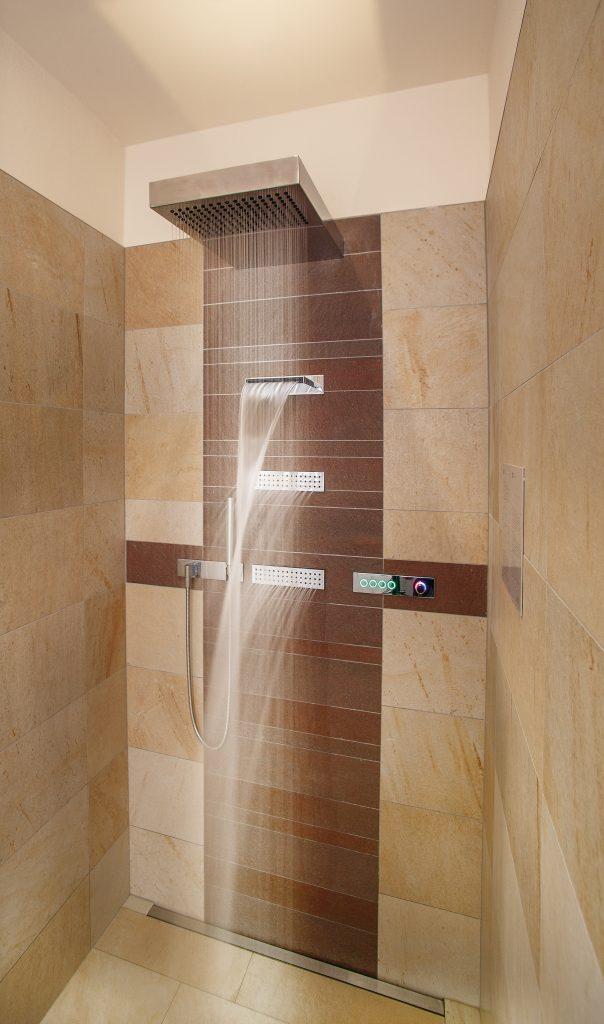 Experience Showers – Bradford Wellness & Spa